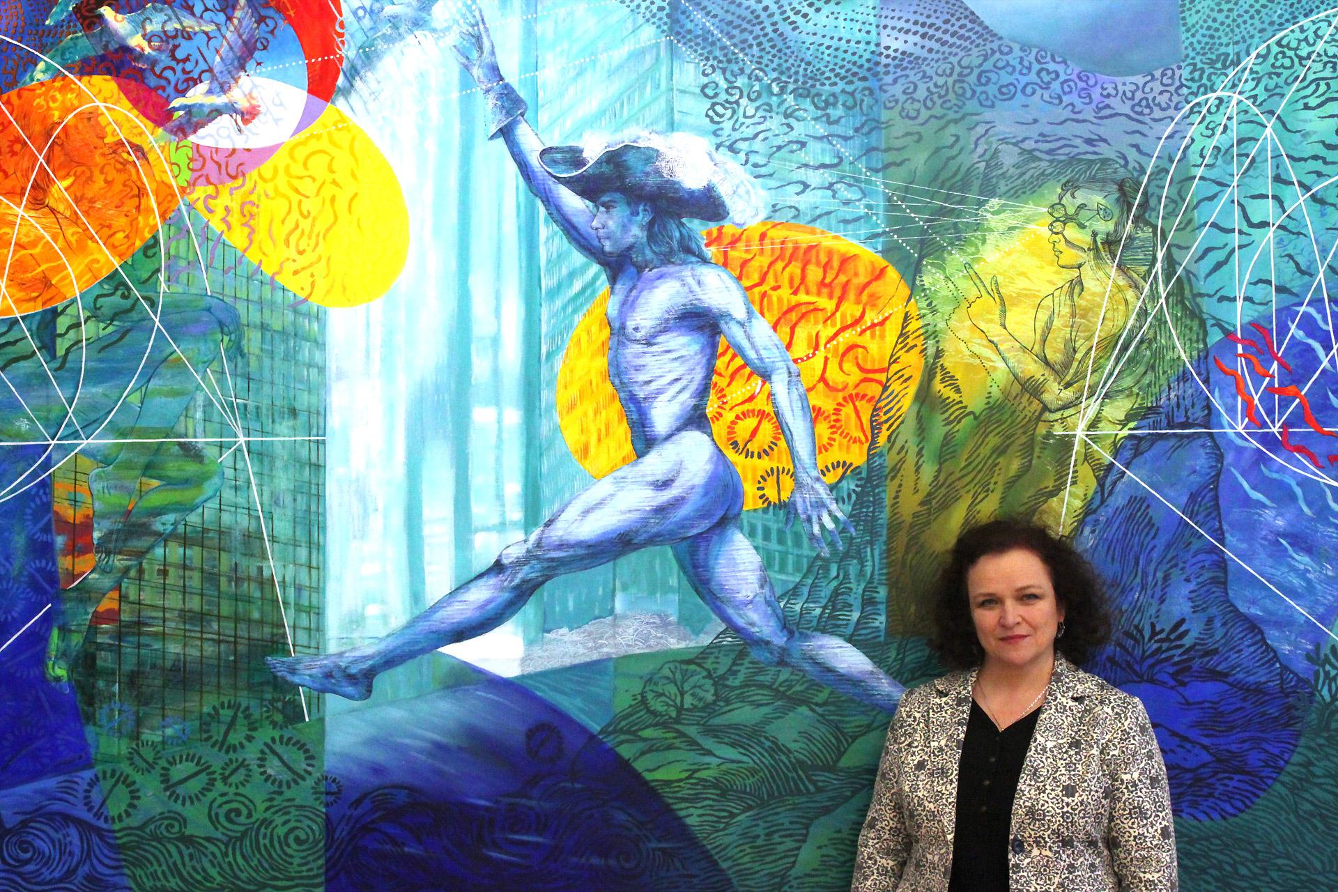 Katarzyna Kopanska natle obrazy Barok Dopamina iMeteory